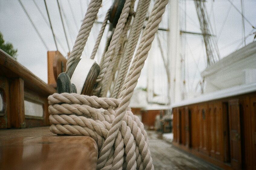 The Cutty Sark deck - picture by Ina Mangold