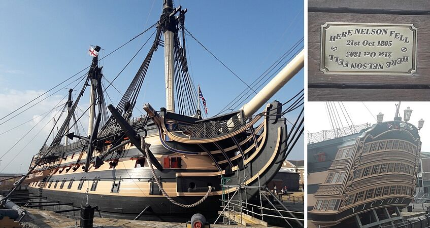 HMS Victory – pictures by Manon Labrande